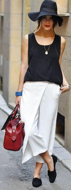 Lazy In Milan by Maritsanbul (maritsa.co) GUNSEL ULKU silk top / ipek bluz ZARA pants / pantolon EMPORIO ARMANI AW13 bag / çanta – yeni sezon H&M AW13 hat / şapka – yeni sezon EMPORIO ARMANI AW13 shoes / ayakkabı – yeni sezon NAZRA JEWELS bracelet & necklace / bileklik ve kolye