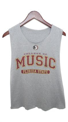 Florida State College of Music Shirt