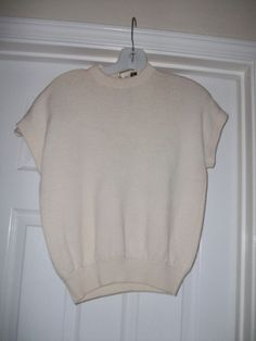 Vintage Cream St. John Top Size M Recently Marked Down by MICSJWL, $12.00