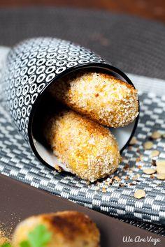 Recette végétarienne : croquettes de pois chiches et cumin