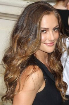 long ombre waves