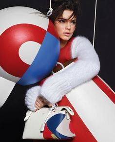 Full look: Kendall Jenner and Lily Donaldson star in Fendi's AW15 campaign