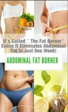 "They Call It ""The Fat Burner"" Because It Eliminates Abdominal Fat in Just 10 Days (Recipe)"
