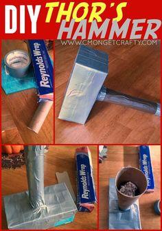 Crafty Quickie: DIY Thor's Hammer - C'mon Get Crafty