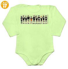 Mugshot Of Haikyuu Team Members Baby Long Sleeve Romper Bodysuit Medium - Baby bodys baby einteiler baby stampler (*Partner-Link)