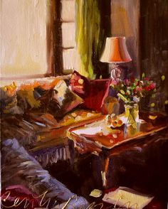 SITKAMER IN MIDDAGSON by CECILIAROSSLEE on Etsy, $150.00