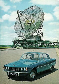 1972 Rover 2000 - it's space age then I suppose?