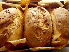 Gotowanie jest łatwe: Chleb żytni na zakwasie i serwatce