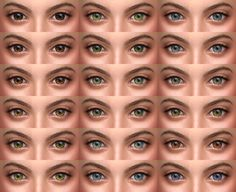 • default eyes | non default eyes | face paint • 18 colors; • custom thumbnails (face paint); • removed specular map (non default eyes, face paint); TOU (other) Download: default eyes | non default...