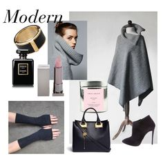 Modern by mdrozd on Polyvore featuring moda, Giuseppe Zanotti, Sophie Hulme, Witchery, Lipstick Queen, Chanel, True Grace, Massimo Dutti and modern