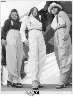 chola fashion 1950. totally forgot about suspenders as an option!!