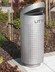 http://www.hartecast.co.uk/litter-bins-hc2051/ The Stainless Steel HC2051 available from Hartecast UK's product range. Available with or without ashtray facility. For finishes and colours visit our website.