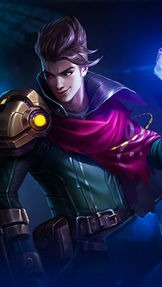 Claude Partners In Crime Mobile Legends Free Ultra HD Mobile Wallpaper Mobile Wallpaper, Hd Wallpapers For Mobile, Hero Wallpaper, Gaming Wallpapers, Ocean Wallpaper, Phone Wallpapers, Bruno Mobile Legends, Miya Mobile Legends, Mobiles