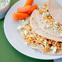 Buffalo Chicken Tacos from @Susan | Our Family Eats  #crock pot  #back to schoool