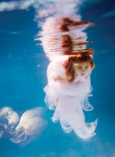 There's underwater photography, and then there's Elena Kalis's underwater photography...