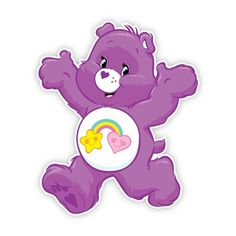 Care Bears wall graphics are now available from Walls360.com