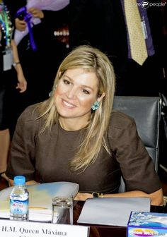 Queen Maxima spent his second day in Myanmar as a special representative of the UN to finance. She participated in a conference at the University of Rangoon. March 31, 2015