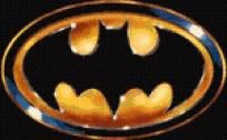 Batman Logo Cross Stitch Pattern - pdf