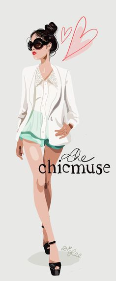 diglee-blog-The Chic muse-hommage