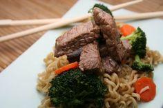 Beef and Broccoli Stir Fry Ramen Noodle Recipe