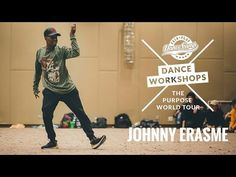 Johnny Erasme | Truffle Butter | The Purpose World Tour Dance Workshops | Poland 2016 - YouTube