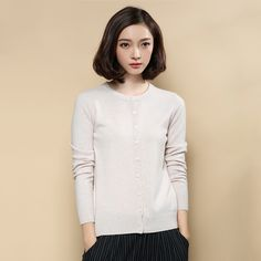 Hot Sale Fashion Spring Autumn Winter Cashmere The Cardigan Knitted Sweater Women 2013 Woman V neck. Click visit to buy #WomenCardigan