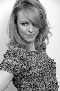 """Rachel McAdams takes risks that many others in her position of """"beautiful girl-next-door"""" wouldn't.  I love that about her."""