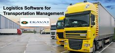 """""""In order to handle the multifarious jobs of a Logistician, the solution needs to be flexible and competent for every operation in the workflow"""" For more info: http://www.ekavat.co.uk/logistics-transportation-management-software or call +918754777294 #transportationmanagementsoftware #logisticssoftwareindia #logisticsmanagementsoftware #packersandmoverssoftware #transportmaintenancesoftware #transportationlogisticssoftware"""
