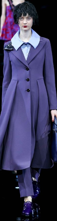 Fall 2015 Ready-to-Wear Emporio Armani