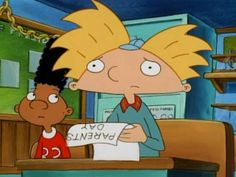 "23 Moments ""Hey Arnold!"" Got Way Too Real. -- Hey Arnold! was seriously an amazing cartoon in the 90's. <3"