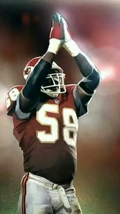 Derrick Thomas  58 Kansas City Chiefs Football b55c03016