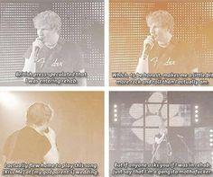 Ed Sheeran<<I Laughed way too hard at this then i should have...!