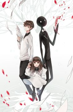 This is deemo its not anime, its a video game and its fun I recommend it!