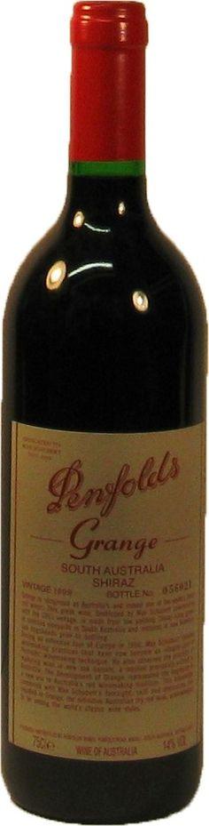 Penfolds Grange Shiraz Penfolds Wines 1999, 1999