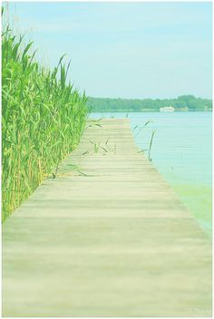 #dock #boardwalk #summer #aqua #turquoise #lake #summer #relax #calm