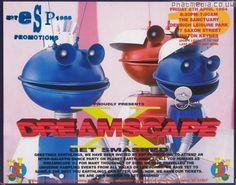 Dreamscape X Get Smashed rave flyer @ The Sanctuary Milton Keynes 1994 - classic #raveflyers uploaded to #phatmedia