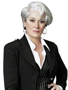 Hair - Going Grey / Gray Gracefully - Meryl Streep