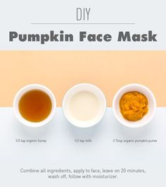 DIY Pumpkin Face Mask (You Probably Already Have All The Ingredients!) https://www.facebook.com/teamyouniqueaustralia