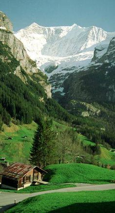Grindelwald in Interlaken-Oberhasli, Switzerland