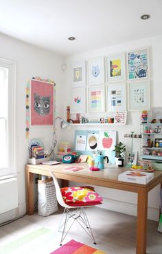 Un workspace como los de Pinterest