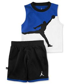Jordan Baby Set, Baby Boys Jordan 2-Piece Tank and Shorts - Kids Sets - Macy's