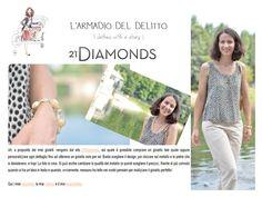 16.Luglio.2012 - L'armadio del delitto: Cécile la top blogger di Grazia indossa i gioielli di 21DIAMONDS.
