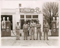 vintage gas stations | Vintage Photos / When gas stations were Service Stations.