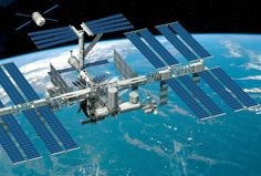 The ISS is a habitable space station in orbit of the earth. 340 people have visited the space station, and although its whole space is bigger than a football field, its livable space is about the size of a 5-bedroom house.