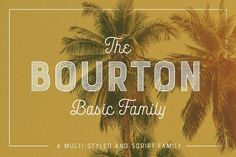 Bourton is a new typeface by Kimmy Design. It's the sans-serif cousin to Buford: This basic family is a simplified version of the extended type family. Handwritten Fonts, New Fonts, Script Lettering, Creative Fonts, Creative Sketches, Business Brochure, Business Card Logo, Art Design, Graphic Design