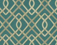 Popular items for modern teal fabric on Etsy