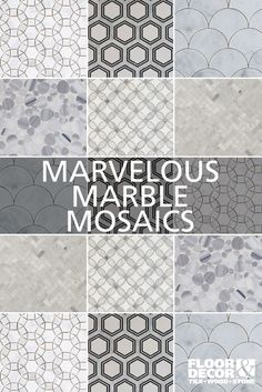 Elegance without the expense, explore these marble tiles...