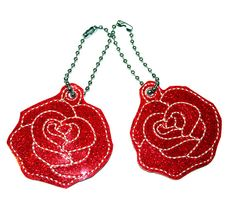 Red Glitter Rose Bag charm, Glitter KeyRing , embroidery Zipper Puller, Valentines Day Gift, Enchanted rose Red Rose Flower, Flower Bag, Red Roses, Glitter Roses, Red Glitter, Enchanted Rose, Vinyl Fabric, Glitter Vinyl, Valentine Day Gifts