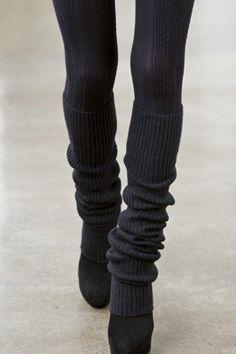 $22 vertical ribbed legwarmers