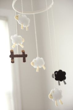 I am making this felt mobile for my child someday.